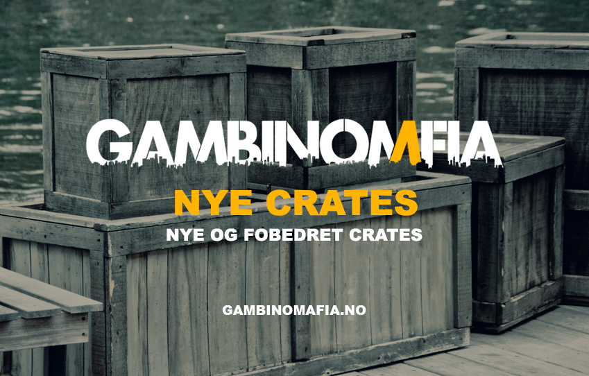 Nye crates!
