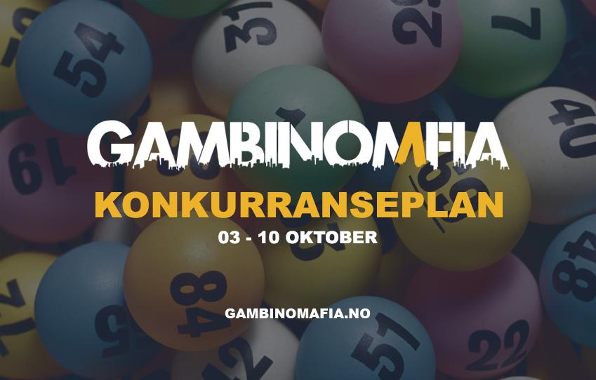 Konkurranse plan 03.10.21 - 10.10.21