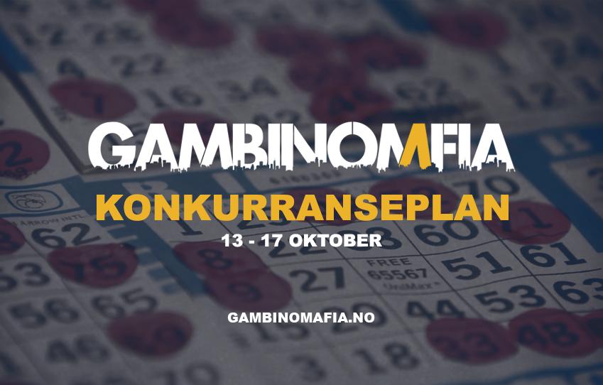 Konkurranse plan 13.10.21 - 17.10.21